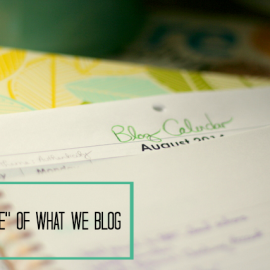 """The """"Use"""" of What We Blog"""