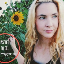Inspired to be…Courageous: Amber of Under the Oklahoma Sky
