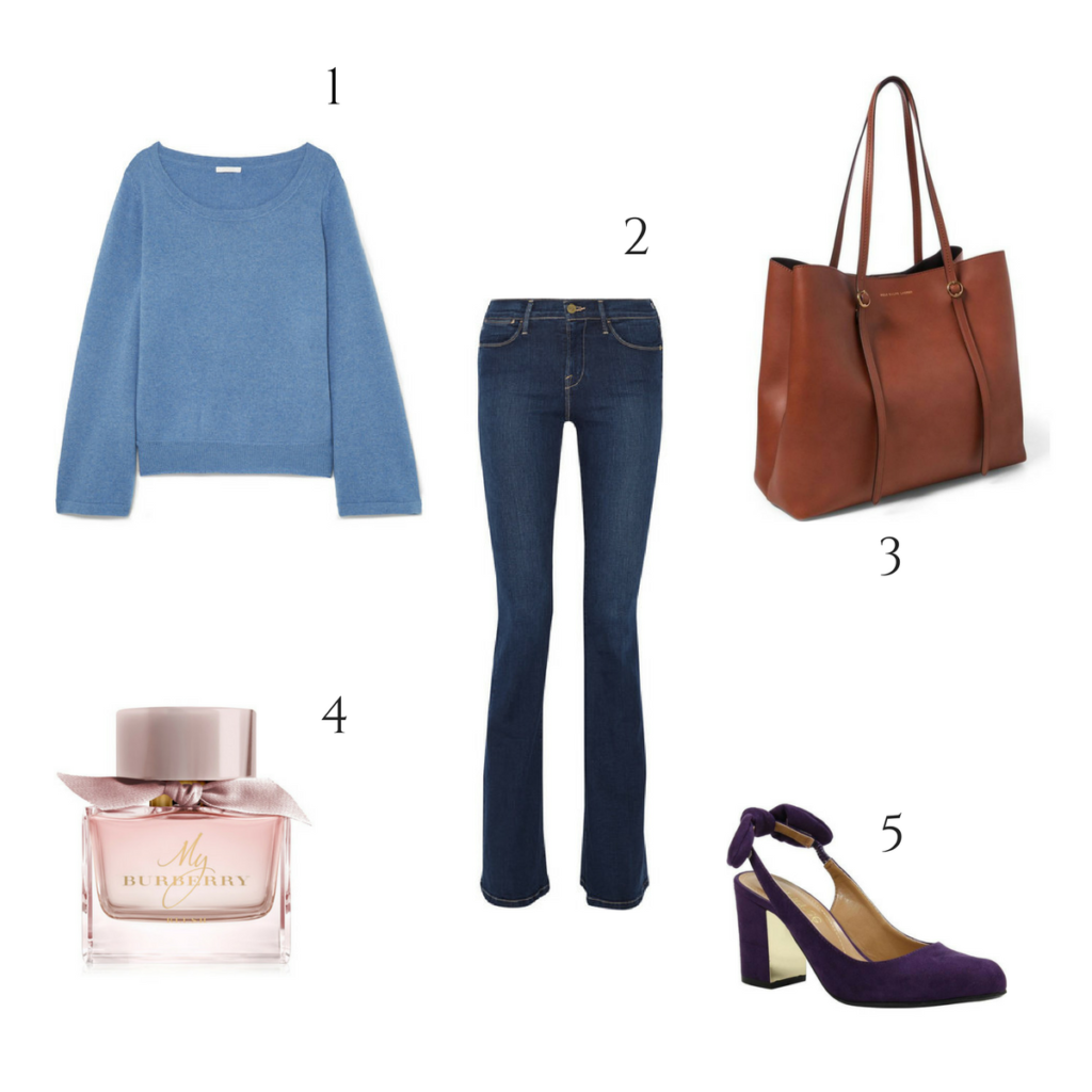 spring outfit sel rose